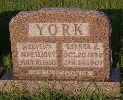 Esther E York