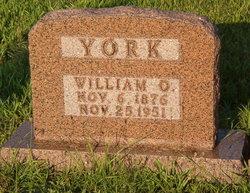 William Oscar York
