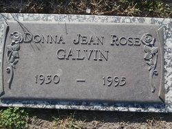 Donna Jean Rose Galvin