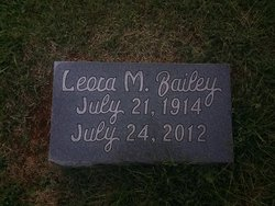 Leora <I>Wilt</I> Bailey