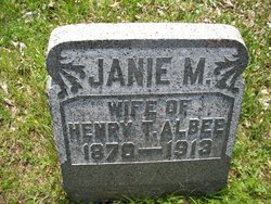 Jane M <I>McCullough</I> Albee