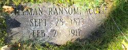 Stillman Ransome Cole