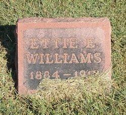 Ettie E. <I>Acree</I> Williams