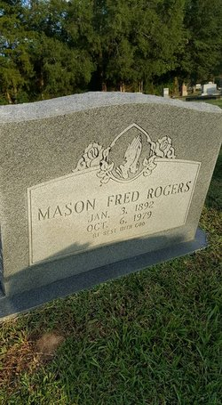 Mason Fred Rogers 1892 1979 Find A Grave Memorial