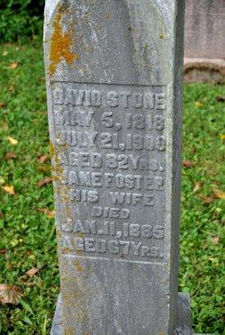 Jane <I>Foster</I> Stone