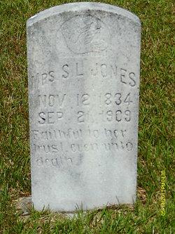 """Sarah L """"Sallie"""" <I>Harp</I> Jones"""