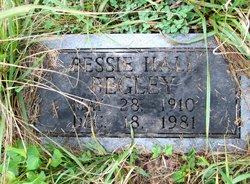 Bessie <I>Hall</I> Begley