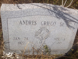 Andres Griego, Sr