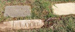 """May Jackson """"Jack"""" Lamme"""