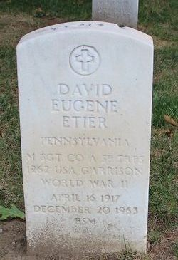 David Eugene Etier