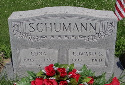 Edna <I>Combs</I> Schumann