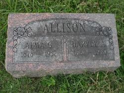 Alma Gustana <I>Hagberg</I> Allison