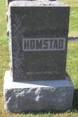 Ingeborg <I>Pederson</I> Homstad