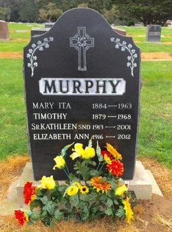 Sr Kathleen C. Murphy