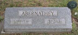 Carmen Dale <I>Hines</I> Abernathey