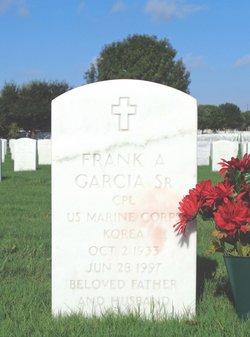 Frank A Garcia, Sr