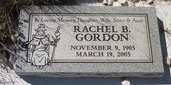 Rachel B <I>Baca</I> Gordon