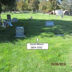 Sarah <I>Baguley</I> Mears