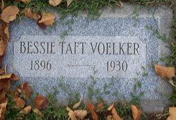 Bessie <I>Taft</I> Voelker
