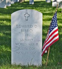 Edward D Bibro