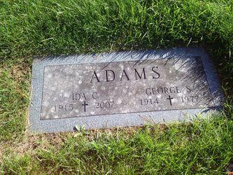 Ida <I>Chartier</I> Adams