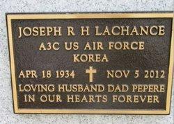 """Joseph R H """"Bob"""" Lachance"""