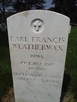 Earl Francis Weatherwax