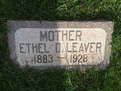 Ethel Dorcas <I>Druce</I> Leaver