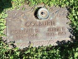 Jennie <I>Franklin</I> Colburn