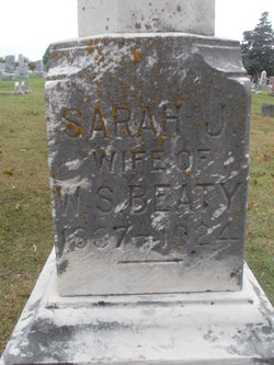 Sarah Jane <I>Cole</I> Beaty