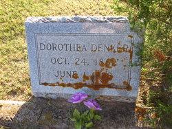 """Dorothea """"Dorothy"""" <I>Hamann</I> Denker"""