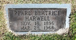Pearl Beatrice Harwell