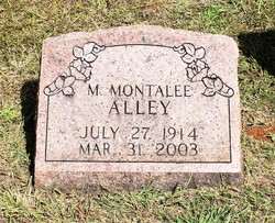 M Montalee Alley