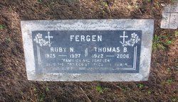 Sgt Thomas B Fergen