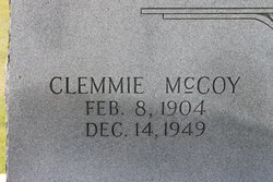 Clemmie McCoy Wright