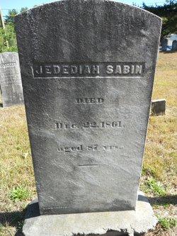 Jedediah Sabin
