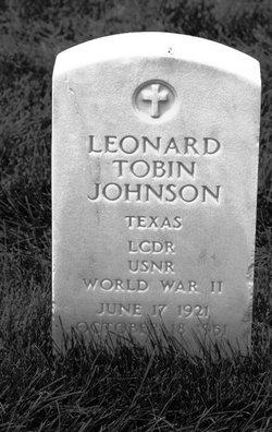 Leonard Tobin Johnson