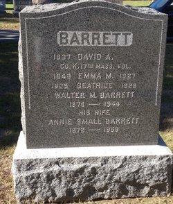 David A. Barrett