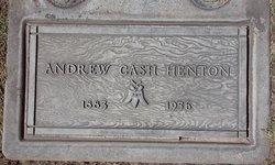 Andrew Cash Henton