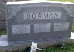 Alvin William Bowman