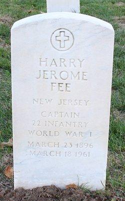 Harry Jerome Fee