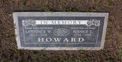"Lawrence William ""Bunks"" Howard"