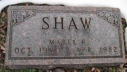 Mabel R. Shaw