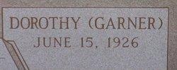 Dorothy <I>Garner</I> Cordero