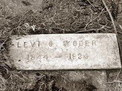 Rev Levi John Yoder