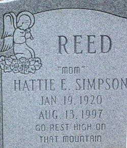 Hattie <I>Simpson</I> Reed