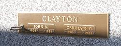 Carolyn O. Clayton