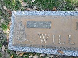 Mildred Iona 'Ona' <I>Warren</I> Willis