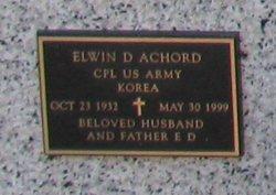 Corp Elwin D Achord