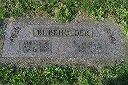"Gordon W ""Tater"" Burkholder"